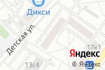 Схема проезда до компании ДЕЗ района Богородское в Москве