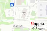 Схема проезда до компании Управление социальной защиты населения района Печатники в Москве