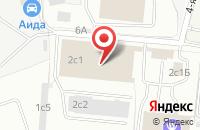 Схема проезда до компании Инамэкс в Москве