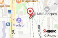 Схема проезда до компании Медиан в Москве