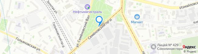 Семёновский проезд