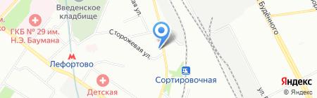 Рус-Партнер на карте Москвы