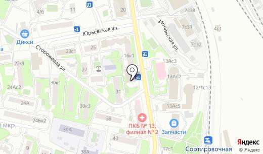 Рус-Партнер. Схема проезда в Москве