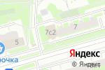 Схема проезда до компании Диамант-оптика в Москве