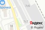 Схема проезда до компании Advertiseru в Москве