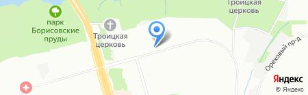 Бэль на карте Москвы