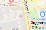 Схема проезда до компании Парижская Коммуна в Москве
