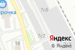 Схема проезда до компании Петер-Лакке в Москве