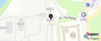 Тацит-М на карте Москвы