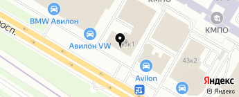 Volvo Car АВИЛОН на карте Москвы