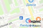 Схема проезда до компании PureProtein в Москве