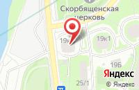 Схема проезда до компании Экран 99 в Москве