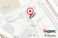 Схема проезда до компании Техноградис в Москве