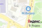Схема проезда до компании Геккон-Шина в Москве