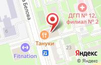 Схема проезда до компании Апико в Москве
