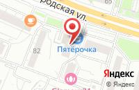 Схема проезда до компании Свитекс в Москве