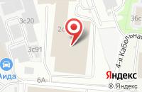 Схема проезда до компании Бета-Майл в Москве
