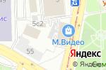Схема проезда до компании МВСтиль в Москве