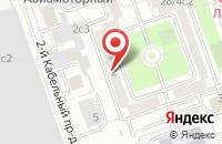 Схема проезда до компании Ониксстрой в Москве