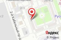 Схема проезда до компании Тд Орбита-Стройка в Москве