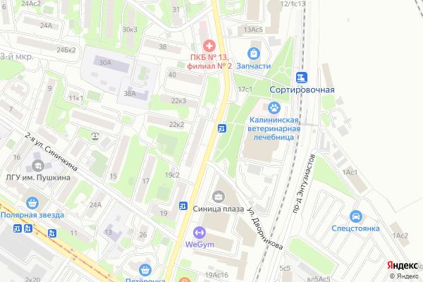 Ремонт телевизоров Юрьевский переулок на яндекс карте