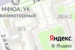 Схема проезда до компании БухучетАудитСервис в Москве