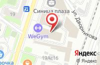 Схема проезда до компании Айдиви Карт в Москве