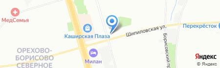 Арбитражная группа на карте Москвы