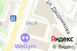 Схема проезда до компании Smartkiller в Москве