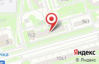 Схема проезда до компании Тасмис Маркет в Москве