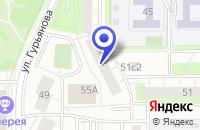 Схема проезда до компании ТВОРЧЕСКАЯ МАСТЕРСКАЯ ПРОТОС в Москве