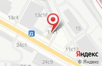 Схема проезда до компании Фернит в Москве