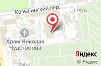 Схема проезда до компании СтройТехноРесурс в Москве