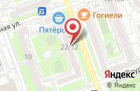 Схема проезда до компании Апрельское в Москве