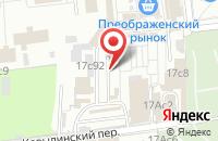 Схема проезда до компании Монолитспецстрой в Москве