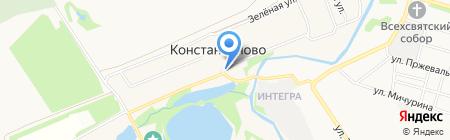 Мебельная фабрика МВК на карте государственного племенного завода