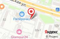 Схема проезда до компании Экофлора в Москве