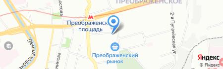 X-Kiosk на карте Москвы