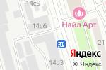 Схема проезда до компании InPost в Москве