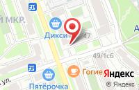 Схема проезда до компании Страховой Бюллетень в Москве