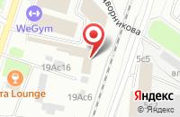 Схема проезда до компании Эскадостройсервис в Москве