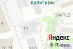 Схема проезда до компании Департамент Деловой Недвижимости в Москве
