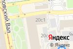 Схема проезда до компании Белый лён в Москве