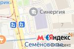 Схема проезда до компании Coffee Moon в Москве