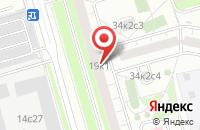 Схема проезда до компании Марлин в Москве