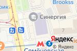 Схема проезда до компании Организация Времени в Москве