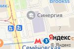 Схема проезда до компании IQ Капитал в Москве