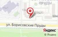 Схема проезда до компании Д.О.М. в Москве