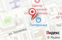 Схема проезда до компании Уникум Пресс в Москве