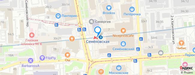 метро Семёновская